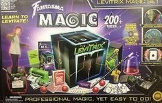 Fantasma Magic Levitrix Magic Set Over 200 + Professional magic tricks by Fantasma. $28.06. Would you like to learn to levitate right in front of your friends? Can you keep a secret? The Levitrix Magic set features the greatest secrets of professional magicians, but with the entertaining instructional DVD, learning to amaze your friends is fun! Learn over 200+ magic tricks! The whole family will enjoy watching master magician and comedian Ed Alonzo teach you magics m...