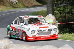 SKODA 130 RS Retro Cars, Vintage Cars, Sport Cars, Race Cars, Motosport, Rally Car, Car Humor, Car Photos, Courses