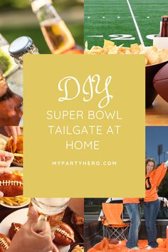 Easy outdoor diy backyard tailgate party for Super Bowl 55 Best Super Bowl Party Food Super Bowl IV celebration at home in 2021 Easy at home screen, projector, speakers, and snack bar for movie party #superbowl #partyfood #superbowlfood outdoor inflatable movie screen projector rental movie night near me DIY cinema party moving screening concert streaming live event