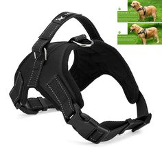 Large Dog Harness With Padded Chest Strap     Tag a friend who would love this!     FREE Shipping Worldwide     Buy one here---> https://sheebapets.com/large-dog-harness-padded-chest-strap-heavy-duty-with-handle-comfortable-for-labrador-golden-retriever-samoyed-husky-dogs/