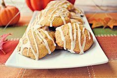 Iced Pumpkin Cookies, 1 WW point per cookie!