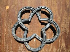 Horse Shoe Star  Country Western Home Decor by RusticandCountry, Maggie makes me think of you! @Megan Hall