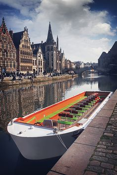 Ghent by Boat by Carol Japp