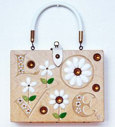 Enid Collins LOVE Box Bag by niwotARTgallery on Etsy, $220.00