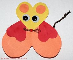 How to Make Paper Heart Animals – About Family Crafts