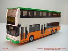 Hong Kong NWFB Volvo Super Olympian 12m air-con bus
