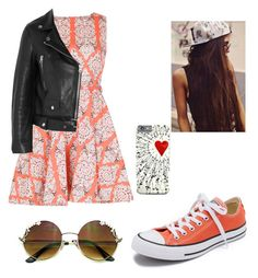 """Skater outfit"" by gggil ❤ liked on Polyvore featuring Converse, Izabel London and Acne Studios"