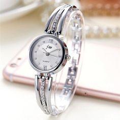 Fashion Luxury Rhinestone Watches Women Stainless Steel Quartz Watch For Ladies Dress Watch