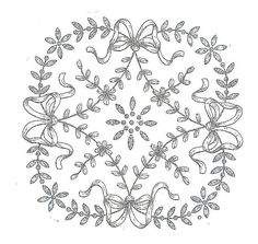 Broderie D'Antan: Embroidery Pattern
