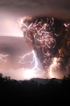 Possibly the craziest thunderstorm shot ever.