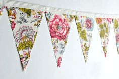 great site for bunting and vintage wedding decor inspiration