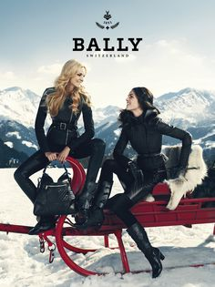 #CarolineTrentini and #HilaryRhoda Autumn/Winter 2012 Advertising Campaign