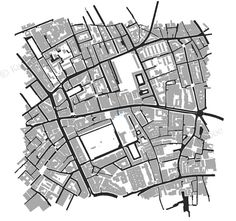 Fitzroy lane design for gure-ground separation reverse. Cartography by took close up, detailed photographs of amsterdam.