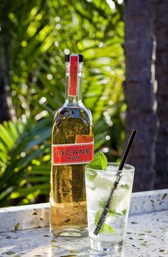 Cane Mojito from the Tequila Bar & Grille at the San Diego Marriott Marquis & Marina #cocktail #drink