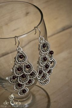DIY Jewelry Pattern Grapes Hollowed Out Chandelier by decors