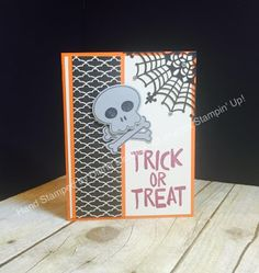 Stampin' Fun with Diana: Howl-o-ween Treat: Trick or Treat Wishes
