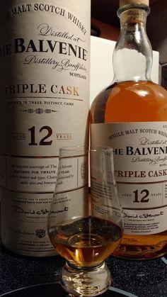 Review #6 -- Balvenie Triple Cask 12y #scotch #whisky #whiskey #malt #singlemalt #Scotland #cigars