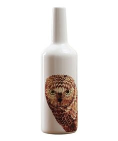 This Owl Large Vase is perfect! #zulilyfinds