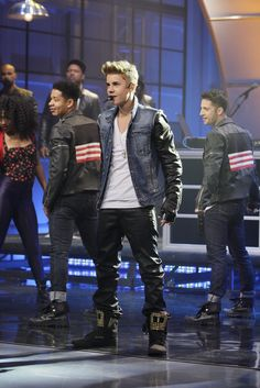 Justin Bieber performs 'Boyfriend' on the Tonight Show with Jay Leno June 27th, 2012
