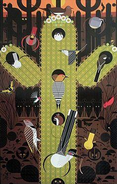 Charlie Harper silkscreens