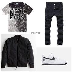 Lesbian Outfits, Swag Outfits Men, Nike Outfits, Mens Fashion Wear, Big Men Fashion, Men's Fashion, Work Fashion, Winter Fashion, Hype Clothing