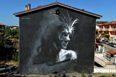 """""""The Masked Ball"""" Mosciano Sant'Angelo, Italy: two new pieces by Venezuelan artist based in Rome GÔMEZ."""