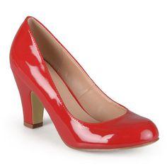 Journee Collection Wanda Women s Faux-Patent High Heels. Women s PumpsPump  ... 250fbeb0c9a4