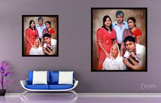 Hang on your wall with a perfect family portrait ❤️❤️❤️ Done by our professional Artists👆 Photo to art Starting at just 450/- For orders visit www.doozypics.com For Quicker response reach us @ whats app: 7799779935 Photo To Art, Photo Restoration, Photo Retouching, Online Gifts, Caricature, Family Portraits, Online Art, Pop Art, Photo Gifts