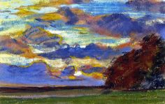 A13 Claude Monet - Sunset on the plain 5b [1865-70] - Ath (by petrus.agricola)