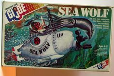 The box art for the Fantastic Sea Wolf!  One of the more impressive box art examples for AT vehicles.