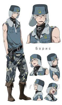 自分のイメージでウサビッチ擬人化 民警さん。ボリスとコプチェフ。 Character Reference Sheet, Character Sheet, Art Reference Poses, Character Drawing, Character Concept, Manga Art, Anime Art, Anime Version, Character Design References
