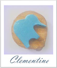 Ahşap ve kil yapımı fil figürlü magnetler...