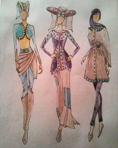 """#design #designer #fashion #fashiondesigner #student #studentasfashiondesigner #hungarian #illustration #fashionillustration #inspiration…"""
