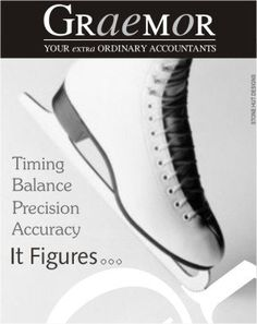 Company Adverts - Graemor Accounting, Advertising, Graphics, Graphic Design, Printmaking
