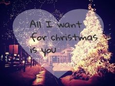 Your so beautiful on the inside and out....u looked so cute with your santa hat on.....my Christmas wish is you baby! That's all I want.