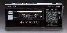 Sony, Tape Recorder, Cassette Tape, Audio Equipment, Audio System, Radios, Tech, Retro, Photography