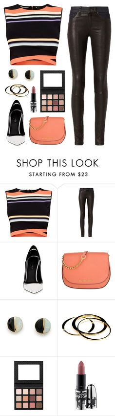 """""""Bold"""" by mxcan ❤ liked on Polyvore featuring Ted Baker, rag & bone, Greymer, Michael Kors, Erica Weiner, Janna Conner and MAC Cosmetics"""