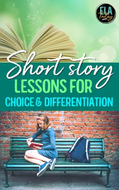 Incorporate choice and differentiation into your short story lessons for the most learning and engagement benefits! Read about two approaches in this post. #MiddleSchoolELA #HighSchoolELA #ShortStoryLessons