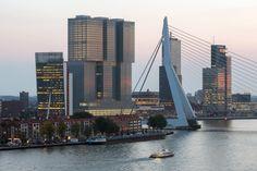 Volumenspiele an der Maas De Rotterdam von OMA