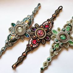 Cruise in 2 weeks! Soutache Bracelet, Soutache Jewelry, Beaded Jewelry, Beaded Necklace, Girls Jewelry, Boho Jewelry, Diamond Bracelets, Jewelry Bracelets, Textile Jewelry