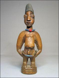 Yoruba Ere Ibeji (Twin Figure), Oyo - Oyo, Nigeria http://www.imodara.com/item/nigeria-yoruba-ere-ibeji-twin-figure-oyo-oyo/