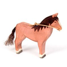 Horse Brown with Reins