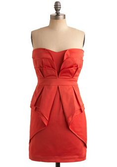 Red Appeal Dress $72.99  #wedding #bridesmaid #dress