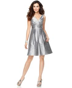 If Macy's had this instock, might be  good solution in case we need one for becky.  @Cora Masson  JS Boutique Dress, Sleeveless Embellished Waist - Womens Dresses - Macy's