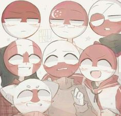 Canada: Maple Leaf Poland Monaco: Darker Poland Indonesia: Upper Poland Japan: A Arte Country, Cute N Country, Character Art, Character Design, Hollow Art, Mundo Comic, Human Art, Hetalia, Drawing Reference