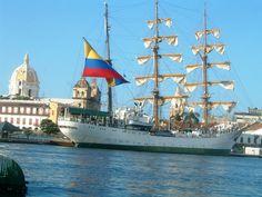 Cartagena de Indias buque escuela Gloria- #Colombia