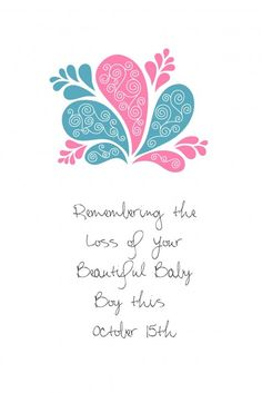 October 15th Pregnancy & Infant Loss Awareness #pregnancy #babies #baby #loss #awareness #oct #infant