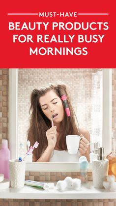 Must-Have Beauty Products For Really Busy Mornings | No one will guess your makeup routine only took three minutes.