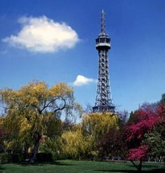 Petrin Tower ( small Eiffel Tower :-)