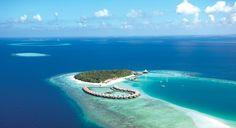 The stunning Baros Island Resort in the Maldives